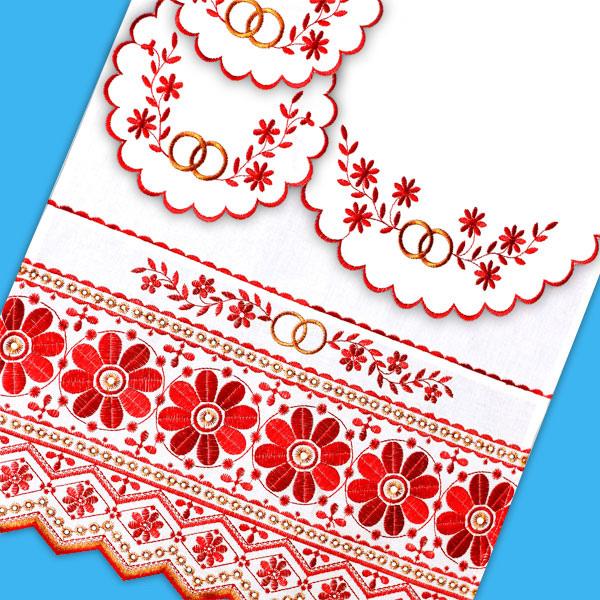 Венчальные полотенца 193