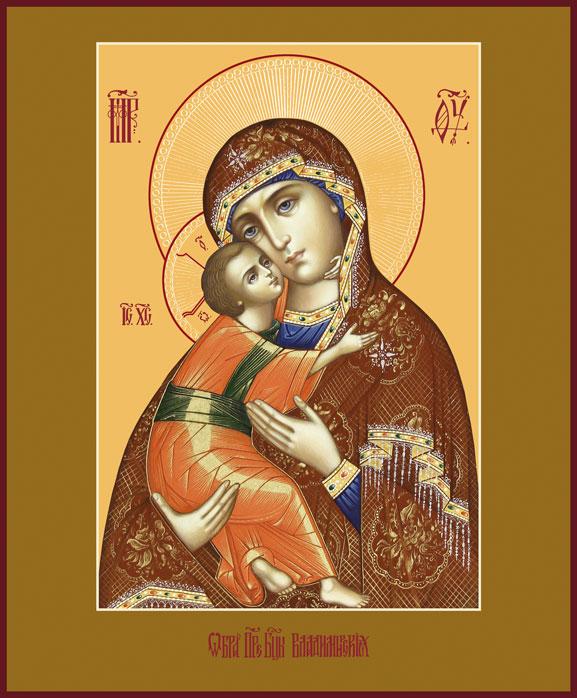 Владимирская икона божией значение