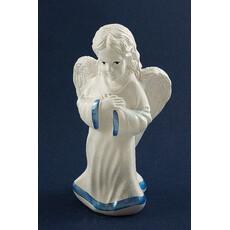 Ангел, фигура гипсовая белая, с цветной росписью, в ассортименте, фото 1