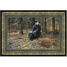 Картина (Фз) 28х18 (формат А4), репродукции картин Павла Рыженко, холст, багетная рама, фото 1