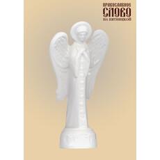 Ангел, фигура керамическая на подставке, высотой 15 см, фото 1