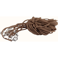 Гайтан из шнура с замком карабин, длиной 65 см, разных цветов (в уп. - 100 шт.), фото 1