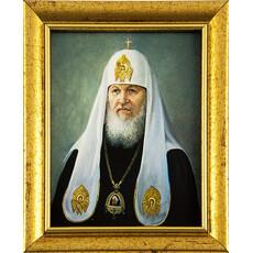 Портрет (Гай) 10х15, холст, портреты святых, в пластиковой раме без стекла, фото 1
