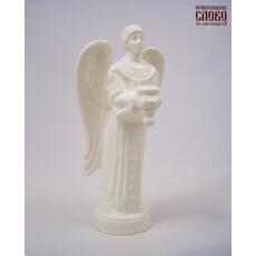 Ангел, фигура керамическая с подсвечником, высотой 18,5 см, фото 1