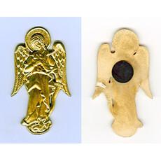 Икона на пластмассе (Нк) 4х8, Ангел, на скотче (уп-25шт), фото 1