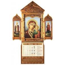 Календарь церковный настенный 12-ти листный фигурный 2016 г. б/, фото 1