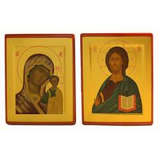 Икона шелкография (Хл) 12х14, золотой фон, фото 1