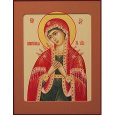 Фото: Семистрельная икона Божией Матери (арт.260) с-2