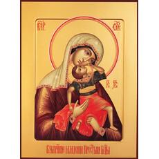 Фото: Взыграние Младенца икона Божией Матери (арт.261)