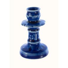 Подсвечник керамический Звездочка с цветной глазурью (в уп. - 5 шт.), фото 1