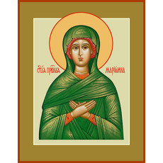 Фото: Мариамна праведная, икона (арт.030) с-2