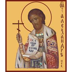 Фото: Александр Невский благоверный князь, икона (арт.410)