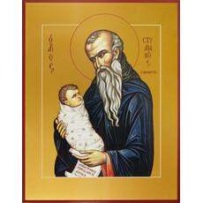 Фото: Стилиан преподобный, икона (арт.856)