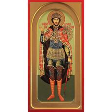 Фото: Александр Невский благоверный князь, икона (арт.403)