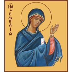 Фото: Емилия Кесарийская (Каппадокийская) преподобная, икона (арт.008)