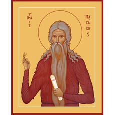 Фото: Макарий Великий, Египетский преподобный, икона (арт.891)