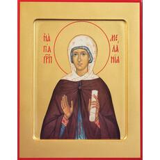 Фото: Мелания Римляныня преподобная, икона (арт.851)