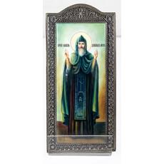 Фото: Даниил Московский, икона. Ростовская финифть. (арт.8432)