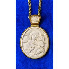 Фото: Панагия. Иверская икона Божией Матери (арт. 24545)
