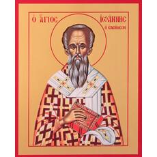 Фото: Иоанн Милостивый святитель, икона (арт.718)