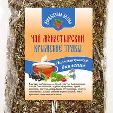 """Фото: Чай монастырский крымские травы """"Нормализующий давление"""", 100 гр."""