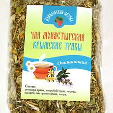 """Фото: Чай монастырский крымские травы """"Очищающий"""", 100 гр."""