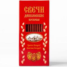 Фото: Красные свечи в подарочных коробках