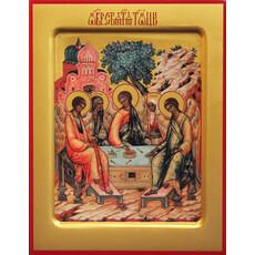 Фото: Святая Троица с Авраамом и Сарой, икона (арт.119)